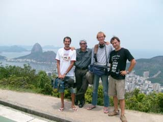 Filming in Rio de Janeiro -- Documentary for French TV FRANCE 3