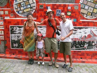 Guided visit of Lapa, Santa Teresa and downtown in Rio de Janeiro, Brazil