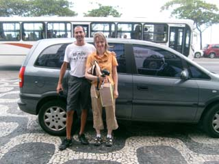 Guided tour of Rio de Janeiro, Brazil