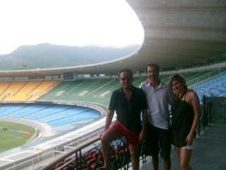 Rio de Janeiro Tour - Football stadium