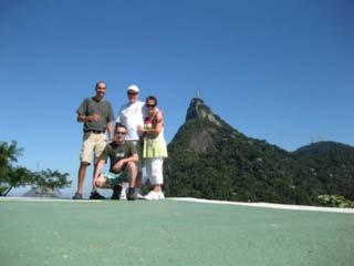 Tour to Christ statue in Rio de Janeiro