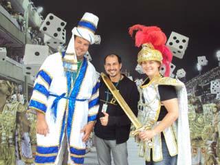 Visit of Sambadrome where Carnival parade happens in Rio de Janeiro