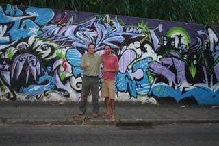 Visit of Santa Teresa area in Rio de Janeiro, Brazil