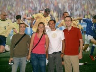 Tour of Rio de Janeiro - Visit to Maracana stadium