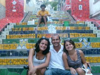 Tours of Rio de Janeiro -- Visit to Selaron staircase