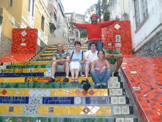 Visit of Selaron staircase and tour of Rio de Janeiro
