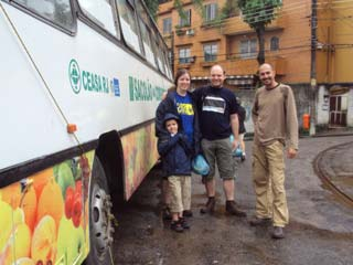 Tour of Santa Teresa and mini fruit market in Rio de Janeiro