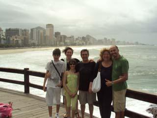 Tour of Sao Conrado, Leblon, Ipanema and Copacabana beaches