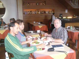 Brazilian food - typical lunch in Rio de Janeiro