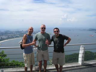 Tour of Rio de Janeiro & visit to Sugar Loaf