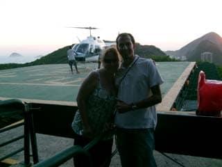 Helicopter tour of Rio de Janeiro