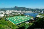 Helicopter-pad-Urca-Hill-Rio-de-Janeiro-brazil