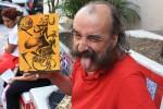 Tours in Rio - Painter Selaron himself